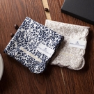 日本品牌手帕女士皇家哥本哈根復古風格高紗支薄款純棉手絹方巾 錢夫人