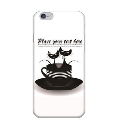 ♥ 俏魔女美人館 ♥ {杯子貓*水晶硬殼} Iphone 6 / Iphone 6 Plus 手機殼 手機套 保護殼