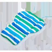 嬰兒手推車棉墊 通用加厚防水全棉寶寶兒童餐椅坐墊子4色gogo購