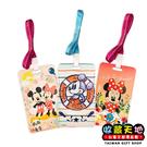 【收藏天地】卡通授權*迪士尼可愛茶票卡夾 - 米奇米妮 (三款) / 生活用品 禮物 出國