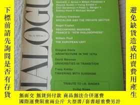 二手書博民逛書店Dialogue罕見1979, Vol.12, No.1Y214