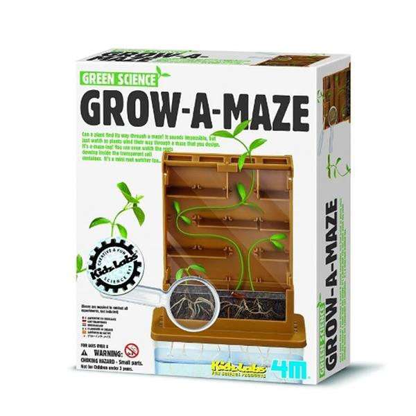 【4M】03352 綠能系列- 植物迷宮 GROW-A-MAZE
