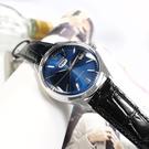 CITIZEN 星辰表 / NH8390-20L / 經典復刻 C7 機械錶 自動上鍊 小牛皮壓紋手錶 藍x銀框x黑 40mm