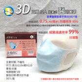 [台灣製 符合法規 醫用口罩 ] 蝴蝶魚 台灣康匠 拋棄式 立體口罩 3層 藍 成人 50入;非PM2.5口罩