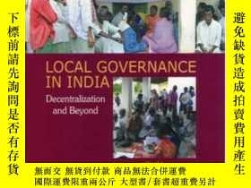 二手書博民逛書店Local罕見Governance In India: Dece