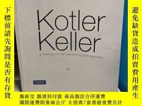 二手書博民逛書店Kotler罕見Keller a framework for m