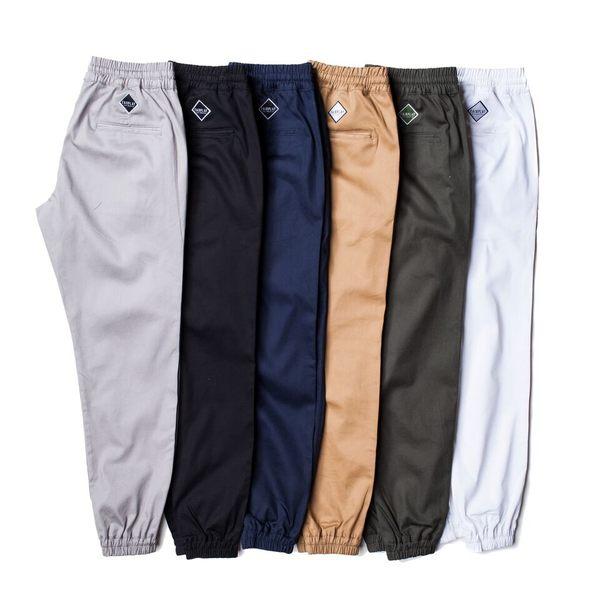 【GT】FairPlay Runner Jogger 軍綠 縮口褲 修身 休閒 運動 素色 抽繩 棉質 彈性 長褲 束口褲 工作褲