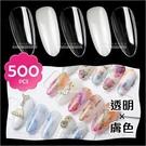 指甲油展示色卡甲片(3號透明/膚色)-500入[85139]指甲彩繪展示用甲片