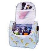 旅行化妝包小號便攜韓國簡約大容量多功能洗漱包防水手提收納包女  檸檬衣舍