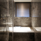 Lansin珠鍊式鋁百葉簾-16mm葉片 寬151~165cm可指定×高166~180cm可指定 上下軌鋁合金/防水浴室廚房窗簾