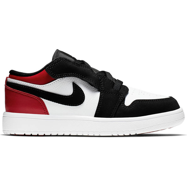 -NIKE Air Jordan 1 Low ALT PS Black Toe 黑 紅 喬丹 飛人 AJ1 童鞋 中童鞋 運動鞋BQ6066-116