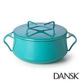 里和Riho Dansk Kobenstyle 雙耳砂鍋 2QT(藍綠)