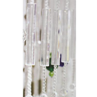 微笑城堡[開運水晶簾160-31冰白](每條每米195元)窗簾 門簾(華麗訂製)(最后促銷)(全國最低價)10條起售