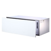 (含標準安裝)櫻花落地式嵌門板抽屜式90cm(與Q7598AXL同款)烘碗機白色Q-7598AXL