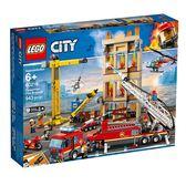 樂高積木LEGO 城市系列 60216 市區消防隊