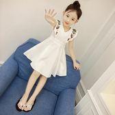 女童夏季連身裙童裝韓版女孩夏裝中大兒童公主裙洋氣裙子