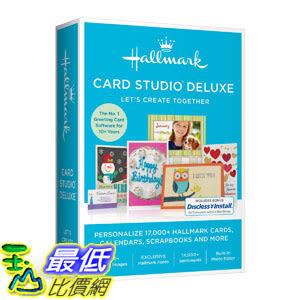 [106美國直購] 2017美國暢銷軟體 Hallmark Card Studio Deluxe 2017