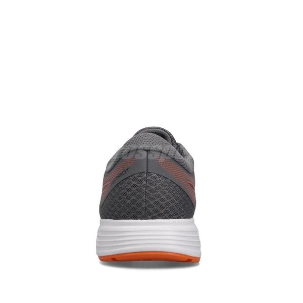 Asics 慢跑鞋 Patriot 11 灰 橘 男鞋 女鞋 運動鞋 【ACS】 1011A568020