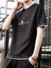 2020純棉男士短袖體恤韓版潮流寬鬆夏裝...