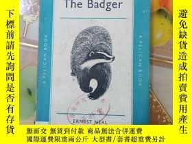 二手書博民逛書店The罕見Badger by Ernest Neal(原版英文書