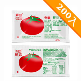 憶霖 蕃茄醬(10g x 200包/袋)