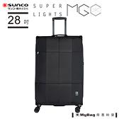 SUNCO 行李箱 28吋 Finoxy Zero 拉練拉桿軟箱 FNZR-72 得意時袋