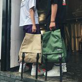 書包女韓版學院風帆布男旅行雙肩包後背包【南風小舖】