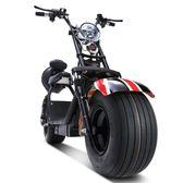 電瓶車 大輪胎電動車摩托車跑車男女性雙人電瓶車成人代步車自行車 LX新品特賣