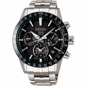 SEIKO精工 Astron 5X53 雙時區 鈦金屬GPS衛星定位錶-43mm 5X53-0AB0D(SSH003J1)