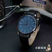 情侶錶正韓潮流時尚休閒大氣簡約男士手錶皮帶女錶學生錶情侶錶石英錶