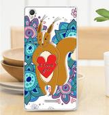 ♥ 俏魔女美人館 ♥ SONY Xperia T3 / D5103 {軟殼*松鼠} 手機殼 手機套 保護殼 保護套