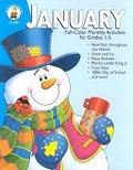 二手書博民逛書店 《January: Full-Color Monthly Activities for Grades 1-3》 R2Y ISBN:0887245528│LynettePyne