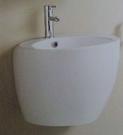 【麗室衛浴】造型臉盆 2200 懸吊式洗臉盆 壁排/單孔