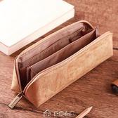筆袋復古簡約男女大容量創意初高中生文具盒 多色小屋