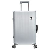 RAIN DEER 米娜莎24吋鋁框行李箱-銀【愛買】