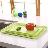 純色長方形托盤密胺塑料馬卡龍色茶盤水杯盤子餐盤【雙12限時8折】