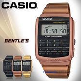 CASIO 卡西歐 手錶專賣店 CA-506C-5A DF 男錶 黑 多功能錶 不鏽鋼錶帶 計算器 秒錶 全自動日曆