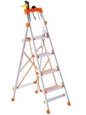 不銹鋼梯子家用折疊梯多 鋁合金加厚室內人字梯移動樓梯伸縮梯JY 『美人季』