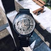 Kenneth Cole國際品牌型男品位鏤空機械腕錶KC50205004公司貨