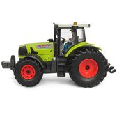 拖拉機模型電動拖拉機玩具兒童玩具車合金工程車農場農業作業車