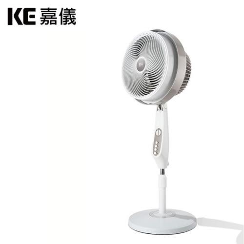 KE嘉儀|12吋旋風循環扇 尊爵灰 KEF3500