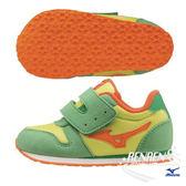 MIZUNO美津濃 童鞋 TINY RUNNER (柳橙) 嬰幼兒鞋 日本同步