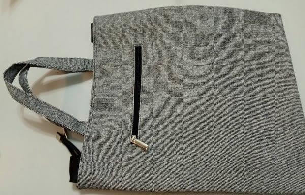 韓國進口防刮布手提袋側背袋兩用 長:36 寬:32公分