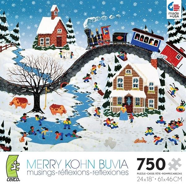 【KANGA GAMES】拼圖 Merry Kohn系列 - 現在你告訴我 Now You Tell Me 750片