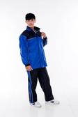 林森●M2R兩件式風雨衣,機車型,M-2,M2,黑藍