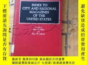 二手書博民逛書店Index罕見to City and Regional Maga