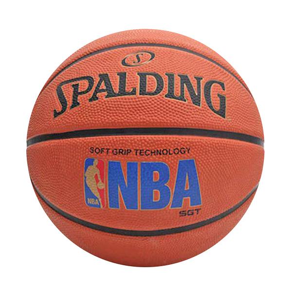 Spalding SGT 深溝柔軟膠 [SPA83192] 籃球 7號 深溝 柔軟 橡膠 室外 橘藍