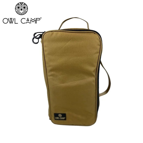 丹大戶外【OWL CAMP】沙色收納盒 (大) PTH-A1 收納袋│工具袋│收納包