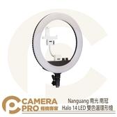 ◎相機專家◎ Nanguang 南光 南冠 Halo 14 LED 雙色溫環形燈 攝影燈 持續燈 補光燈 直播 公司貨