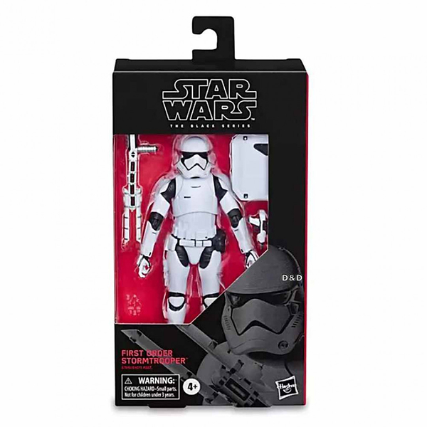 《 STAR WARS 星際大戰 》S2黑標6吋人物組 - Series First Order Stormtrooper╭★ JOYBUS玩具百貨